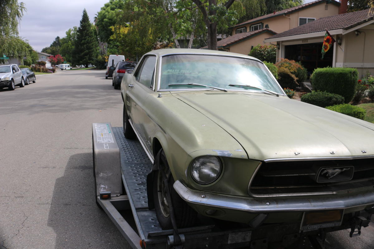 1967 Mustang Front Passager
