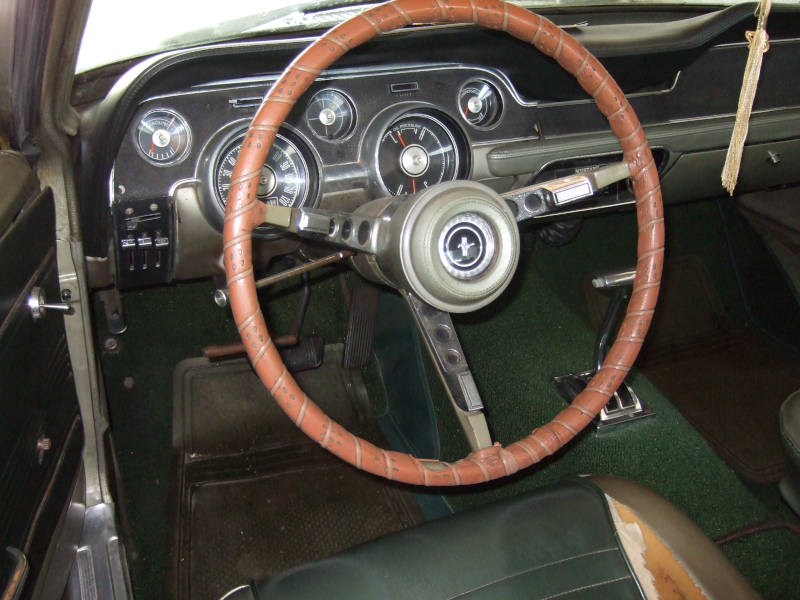 1967 Ford Mustang Drivers Side Interior