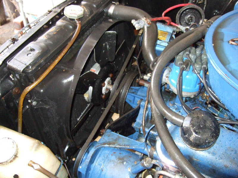 1967 Ford Mustang Engine Cooling System