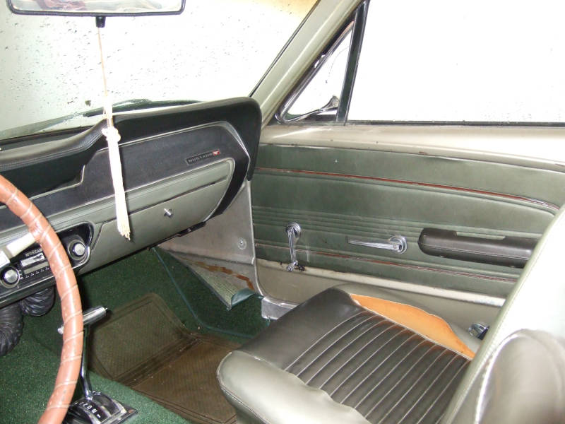 1967 Ford Mustang Passagers Side Interior