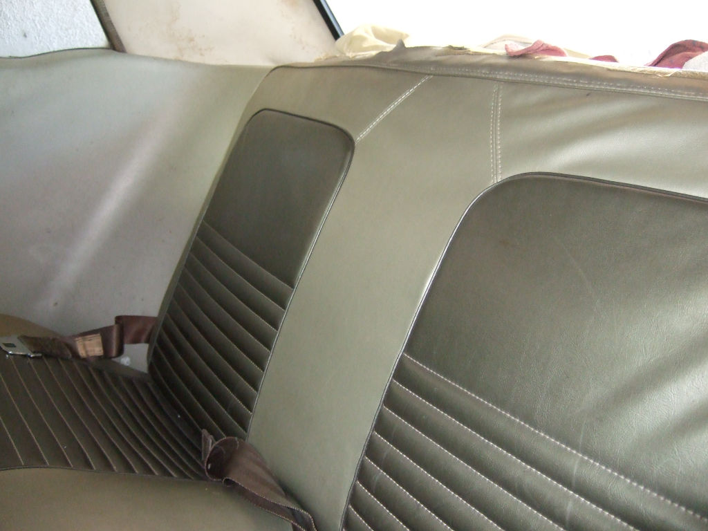 1967 Ford Mustang in storage rear passager 4